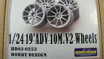 19´ADV 10M.V2 Wheels - Hobby Design