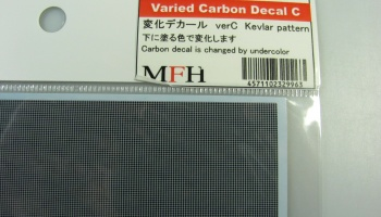 Varied Carbon Decal C - Model Factory Hiro