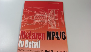 McLaren MP4/6 in Detail - Model Factory Hiro