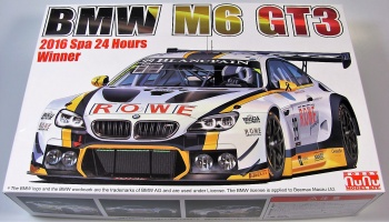BMW M6 GT3 Winner of The 2016 24 Hours of Spa - PLATZ