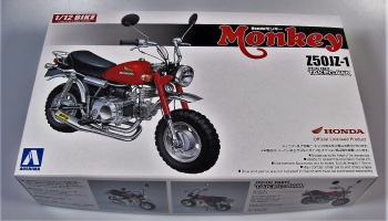 Honda Monkey Custom Takegawa - Aoshima