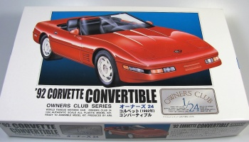 Chevrolet Corvette Convertible 1992 - Arii
