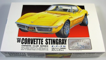 Chevrolet Corvette  Stingray 1968 - Arii