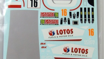Ford Fiesta Kubica Monte Carlo 2015 - COLORADODECALS