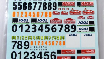 Plates Monte Carlo, Portugal, Tour de Course 2015 - COLORADODECALS