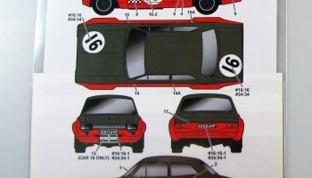 Ford Escort MkI Alan Mann Racing - Studio27