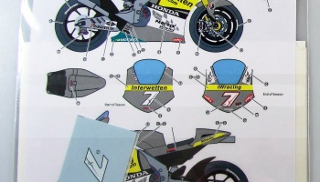Honda RC212V Interwetten 2010 Moto GP - Studio27