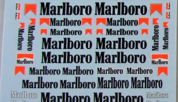 Marlboro Option Decals Assort 1980´ - Tabu Design