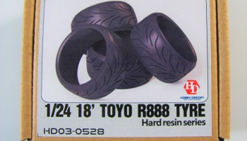 Toyo R888 Tyre 18inch (Resin Tires) - Hobby Design
