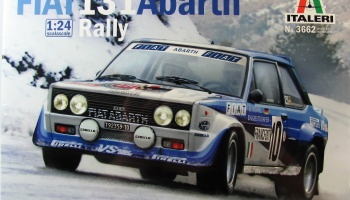 Fiat 131 Abarth Rally - Italeri