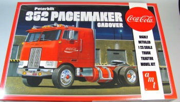 Peterbilt 352 Pacemaker Cabover Coca-Cola Tractor Cab - AMT