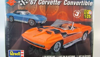 Chevrolet Corvette Convertible - Revell