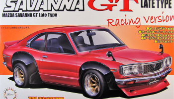 Mazda Savanna RX-3 Racing Verzion - Fujimi