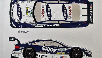 BMW M3 DTM #2 J.Hand Samsung 2012 - Racing Decals 43