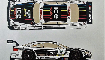 BMW M3 DTM #21 Witmann Ice Watch 2013 - Racing Decals 43