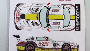 Mercedes SLS GT3 #99 BES Silverstone 2015 - Racing Decals 43