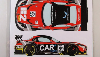 BMW Z4 GT3 #59 ELMS San Marino 2015 - Racing Decals 43