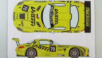 Mercedes SLS GT3 #70 BES Monza 2015 - Racing Decals 43