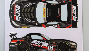 BMW Z4 GT3 #32 Pirelli World Challenge 2015 - Racing Decals 43