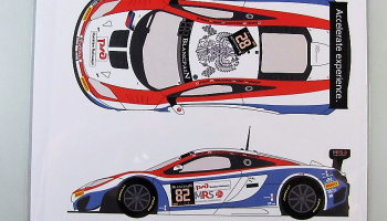 Mclaren MP4/12C GT3 #82 Spa 24h 2014 - Racing Decals 43