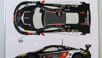 McLaren MP4/12C #5 Spa 24h 2013 - Racing Decals 43