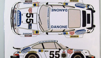 Porsche 934 #55 Danone LM 1977 - Racing Decals 43