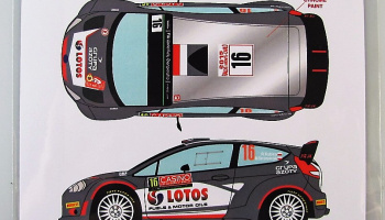 Ford Fiesta WRC #16 Rally Monte Carlo 2015 - Racing Decals 43