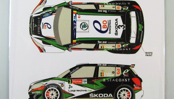 Skoda Fabia S2000 #3 Rally Geko Ypres 2014 - Racing Decals 43