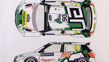 Skoda Fabia S2000 #90 Rally Finland 2013 - Racing Decals 43