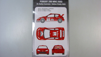 Peugeot 206 WRC Rally San Remo 2003 - MF-Zone