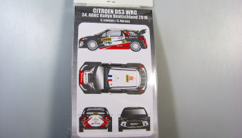 Citroen DS3 WRC ADAC Rally 2016 S.Lefebvre Transkit - MF-Zone