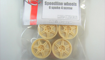 Speedline Wheels 6 Spoke 18inch - MF-Zone