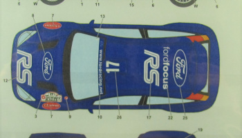 Ford Focus RS WRC Flag #17 2001 - Studio27