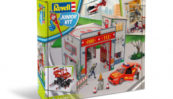 Junior Kit playset 00850 - Fire Station (1:20)