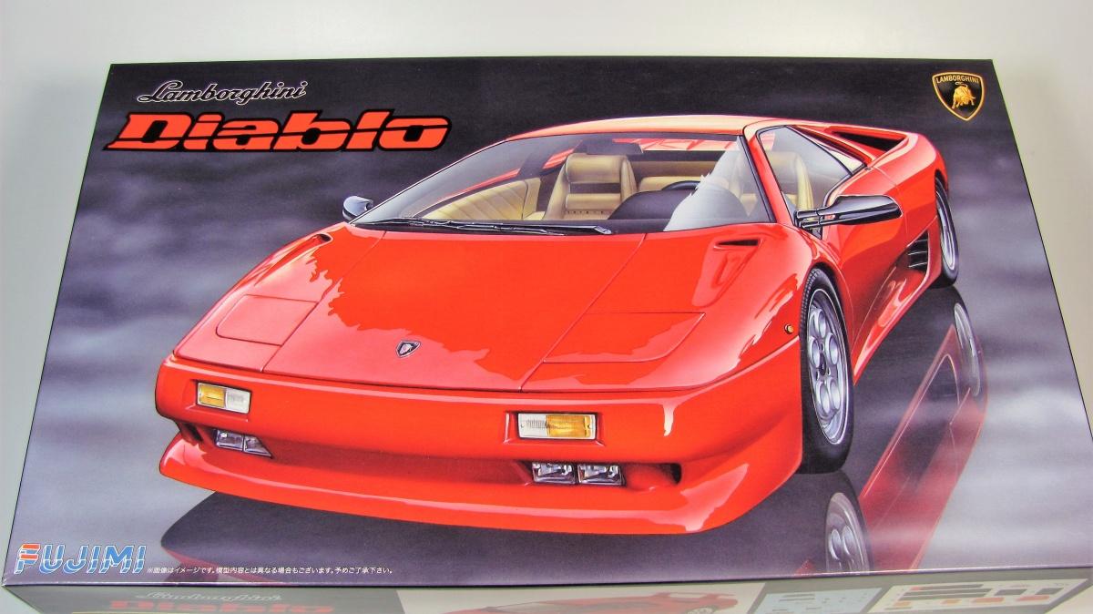 Lamborghini Diablo 4wd Fujimi Car Model Kit Com