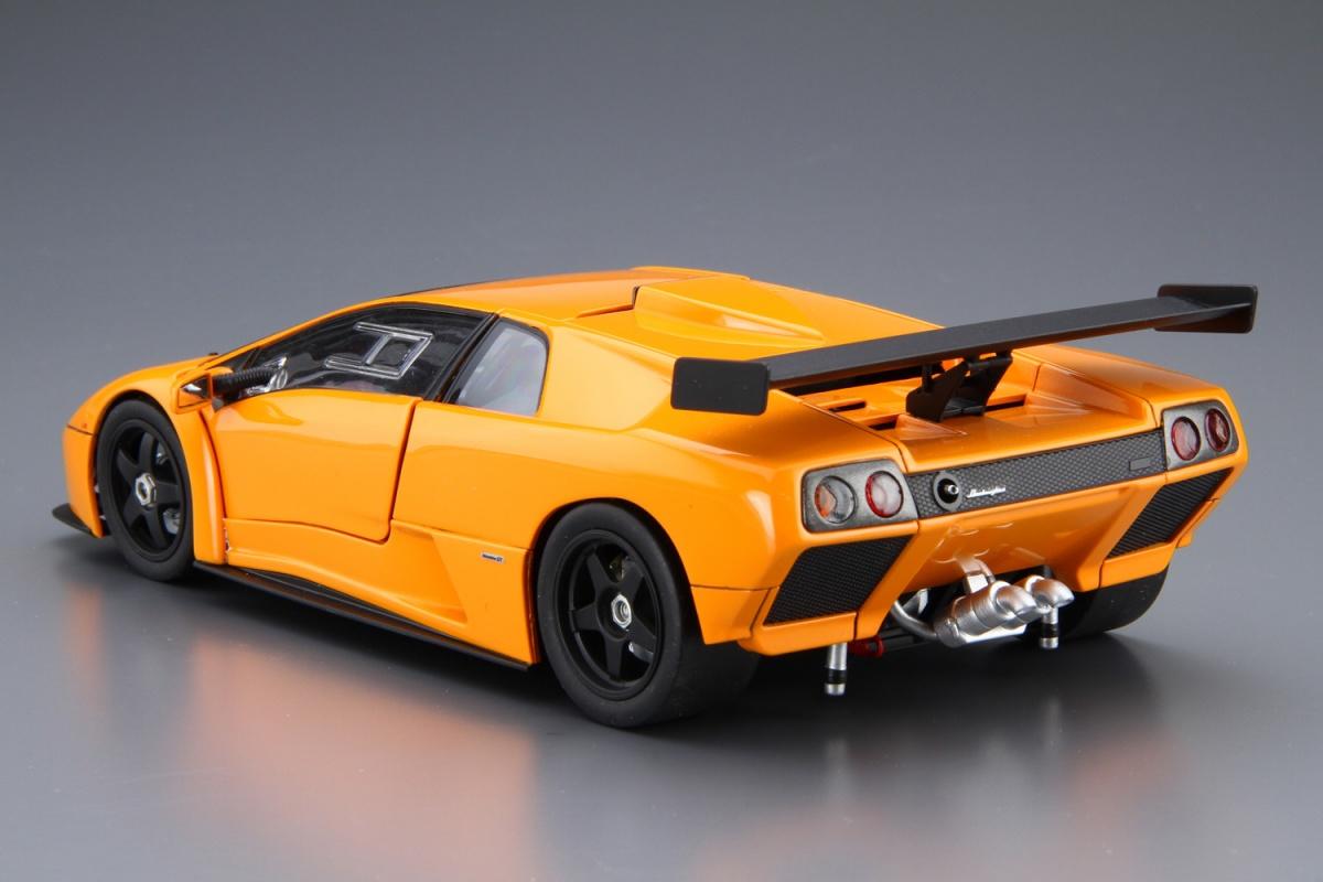 Lamborghini Diablo Gtr Aoshima Car Model Kit Com