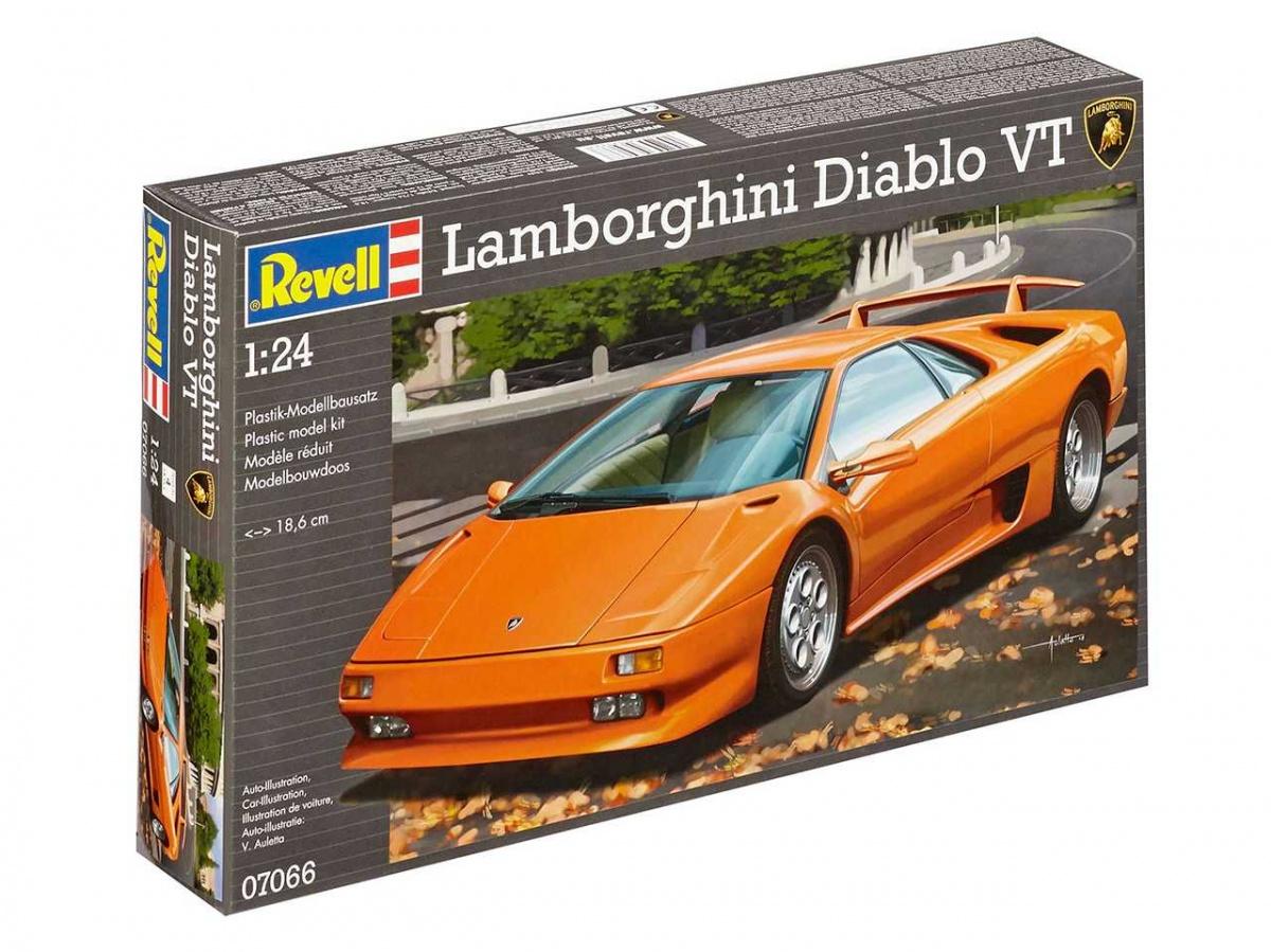 Lamborghini Diablo Vt Revell Car Model Kit Com