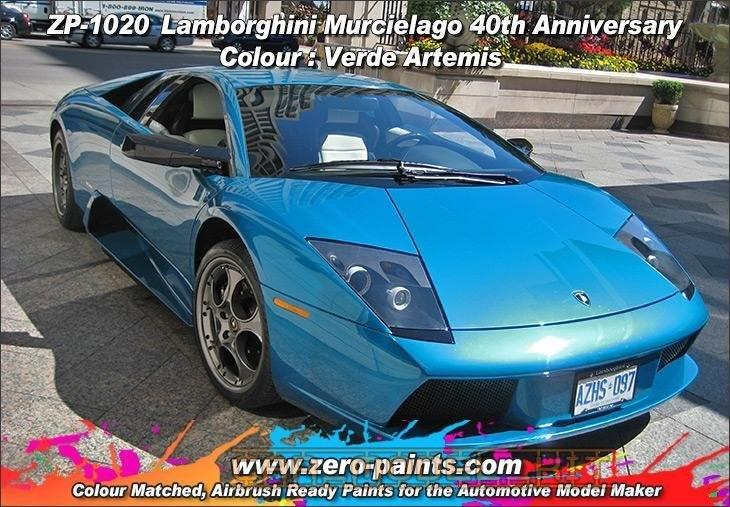 Lamborghini Verde Artemis 40th Anniversary Colour 2 Part Zero