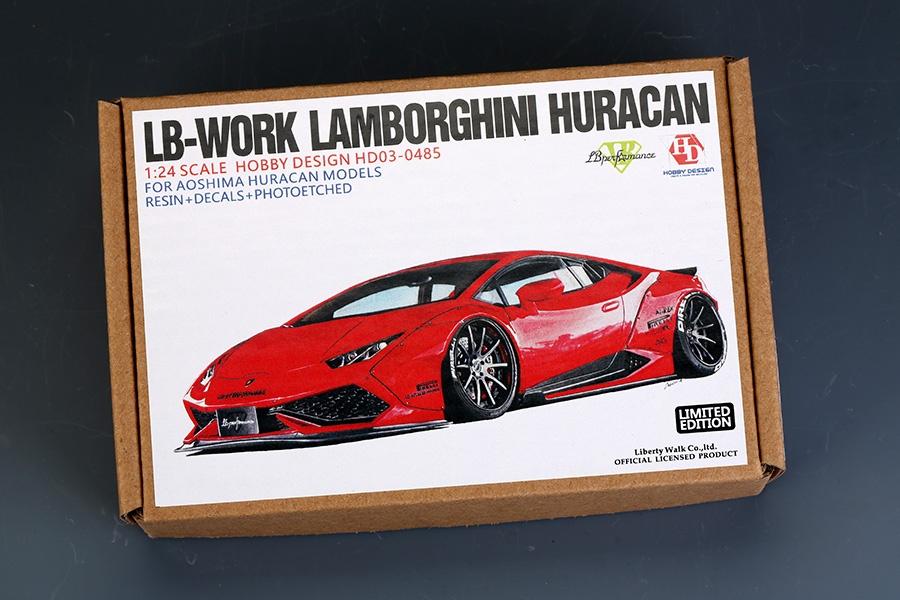 Aoshima 56004 Lamborghini Huracan Performante kit 1//24 Scale