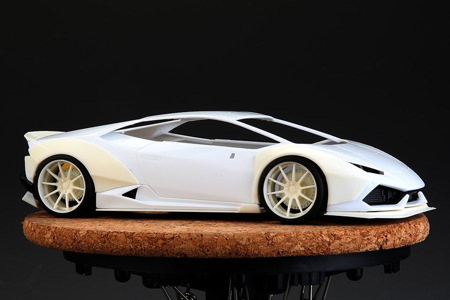 Lb Work Lamborghini Huracan For Aoshima Huracan Models