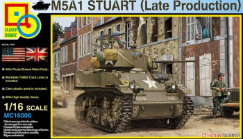 M5A1 Stuart (Late Production) 1:16 - Classy Hobby