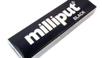 Milliput Black Epoxy Putty - Milliput