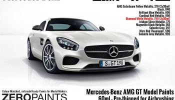 Mercedes AMG GT Diamond White Metalic - Zero Paints