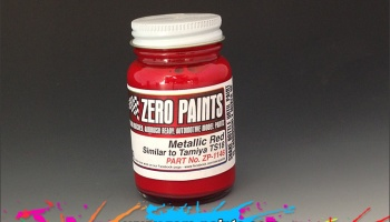 Metallic Red (Similar to TS18) 60ml - Zero Paints