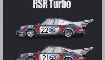 Porsche 911 Carrera RSR Turbo Full Detail Kit 1:12 - Model Factory Hiro