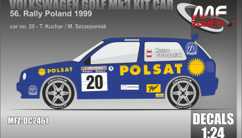 VW Golf MK3 Kit Car Rally Poland 1999  #20 Kuchar - MF-Zone