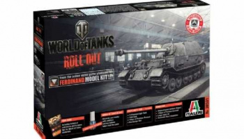 World of Tanks 36501 - FERDINAND (1:35) - Italeri