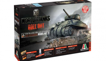 World of Tanks 36503 - M4 SHERMAN (1:35) - Italeri