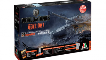 World of Tanks 36507 - LEOPARD 1 A2 (1:35) - Italeri