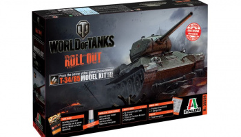 World of Tanks 36509 - T-34/85 (1:35) - Italeri